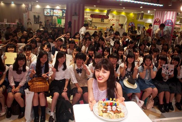 イベントには約100人のファンが集まる(画像提供:所属事務所)