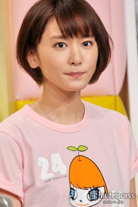 チャリティ番組「24時間テレビ35 愛は地球を救う」(日本テレビ系)に出席した新垣結衣
