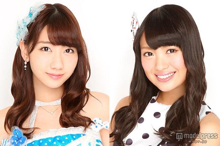 NGT48が「第2回 AKB48グループドラフト会議」に緊急参戦 柏木由紀(左)&キャプテン北原里英が指名(c)AKS【モデルプレス】