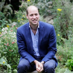 ウィリアム王子、サッカー観戦でストレス解消。