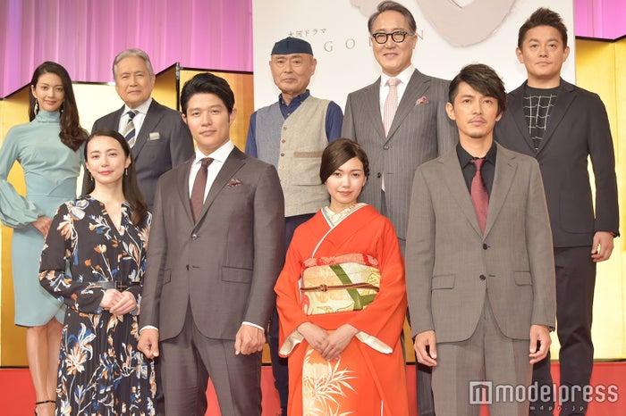 大河ドラマ「西郷どん」新キャスト発表会見 (C)モデルプレス