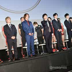 (左から)中間淳太、神山智洋、藤井流星、重岡大毅、小瀧望、濱田崇裕、桐山照史(C)モデルプレス