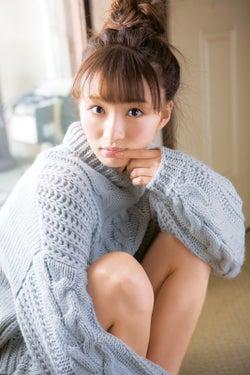 岡崎紗絵/撮影:西村康