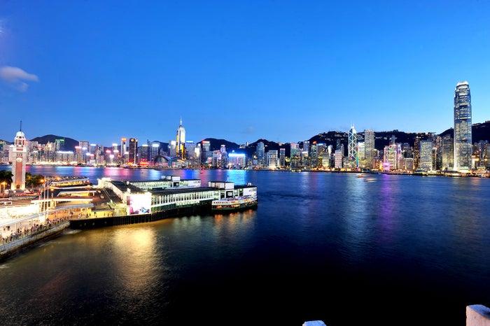 香港の100万ドルの夜景/画像提供:香港政府観光局
