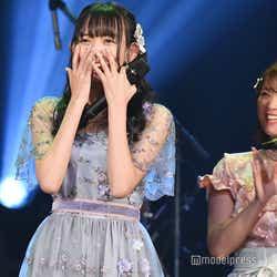 優勝が決定し驚く野島樺乃/「AKB48グループ歌唱力No.1決定戦」決勝大会 (C)モデルプレス