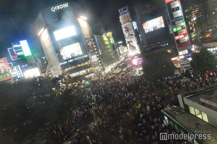 渋谷が大パニック!/2018年10月27日午後18時頃撮影 (C)モデルプレス