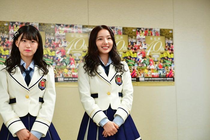 (左から)上西怜、村瀬紗英(画像提供:よしもとクリエイティブ・エージェンシー)