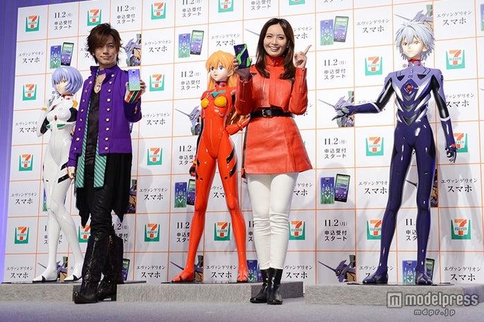 (左から)DAIGO、加藤夏希