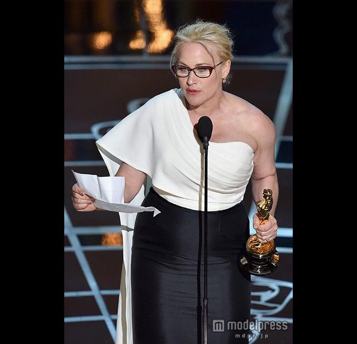 アカデミー賞助演女優賞、パトリシア・アークェットが「6才のボクが、大人になるまで。」で初受賞/photo:Getty Images【モデルプレス】