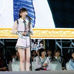 """総選挙4位のNGT48荻野由佳「やばかった」""""酸欠スピーチ""""でも見えた人を惹き付ける魅力<第10回AKB48世界選抜総選挙>"""