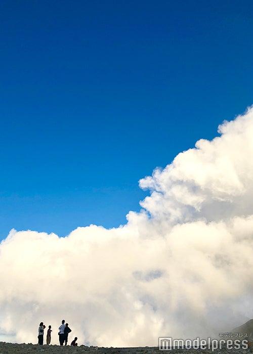 まるで雲の中にいるよう(C)ビューティーガール