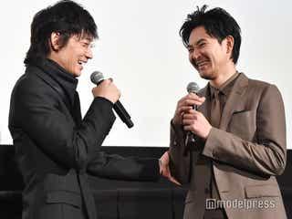 綾野剛、松田龍平は「チャーミングでかわいらしい人」舞台上でイチャつく<影裏>