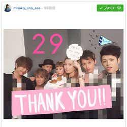 モデルプレス - AAA宇野実彩子がチャレンジ達成 メンバー全員で祝福「とにかく幸せ」