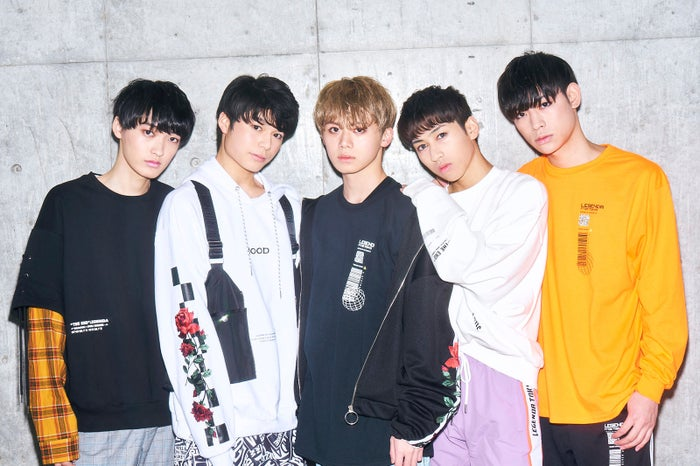 BXW/左から:KENTO、IORI、REITO、TAKERU、DAISUKE(提供写真)