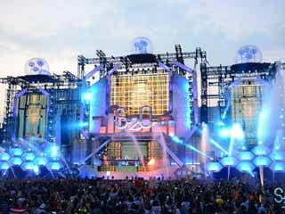 """""""世界一ずぶ濡れになる音楽フェス""""S2O JAPAN、開催決定 エリア拡大でパワーアップ"""