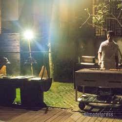 インドネシアレストラン「ブジャナ」/その場でシェフが焼いていくれる(C)モデルプレス