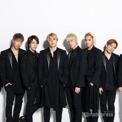 (左から)山本彰吾、陣、藤原樹、RIKU、長谷川慎、鈴木昂秀、浦川翔平、神谷健太(C)モデルプレス