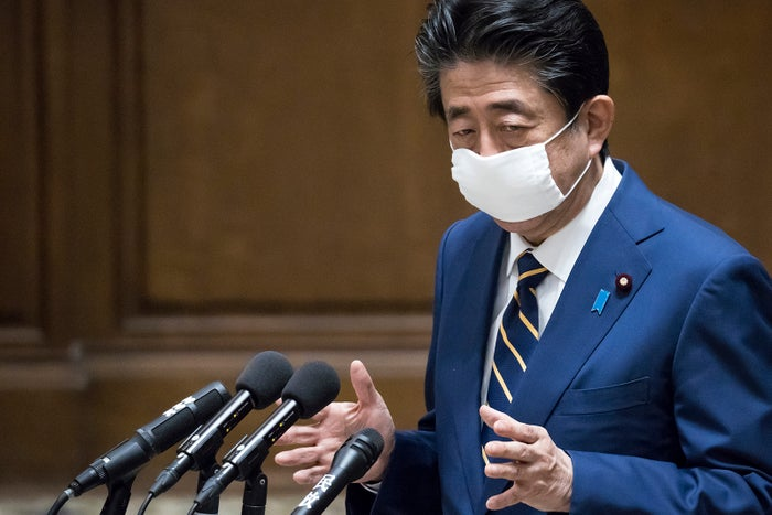 安倍晋三首相(Photo by Getty Images)