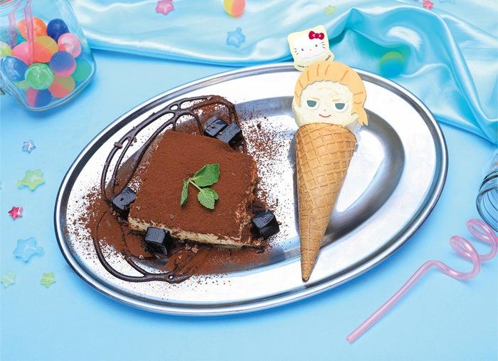 ティラミス&アイスプレート 1,399円(提供画像)