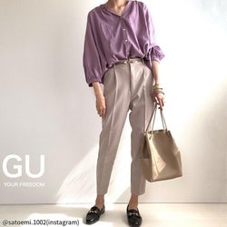 【GU】おしゃれさんが3月に買ったゴリ押しアイテム4選