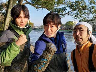 中川大志、佐賀城で貴重なお宝発見 「池の水」初の生き物も登場