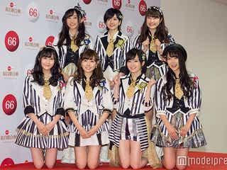 NMB48、波瑠・玉木宏らとコラボ 早着替えも<紅白本番>