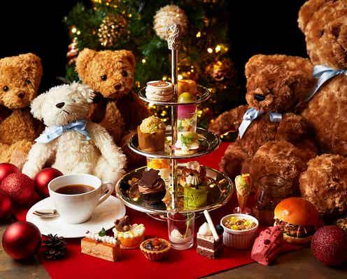 大阪「クリスマス テディベア ティーパーティー」人気のクリスマスブッフェ再び