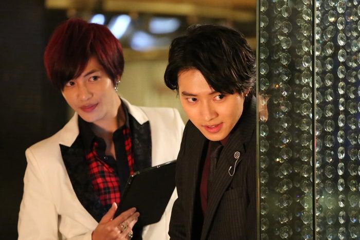 旺太郎と後輩ホスト・和馬(志尊淳)のやり取りも注目(C)NTV