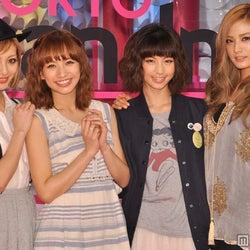 優木まおみ、安田美沙子、AFTERSCHOOLナナらが美脚競演 ファッション新番組スタート