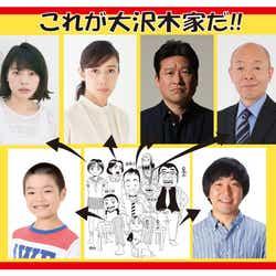 「浦安鉄筋家族」大沢木家(C)浜岡賢次(秋田書店)1993
