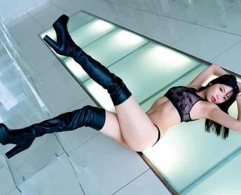 NMB48安田桃寧、ランジェリー初挑戦 1st写真集は「死ぬ気で体作りをしました」