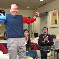 有吉弘行・池田美優ら、モト冬樹宅で「スーパーマリオメーカー2」をプレイ!高齢者マリオに大爆笑!?