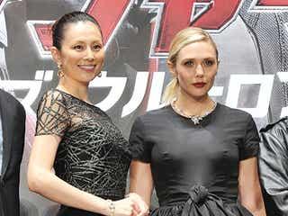 米倉涼子、エリザベス・オルセンと美の競演 監督に自ら売り込み