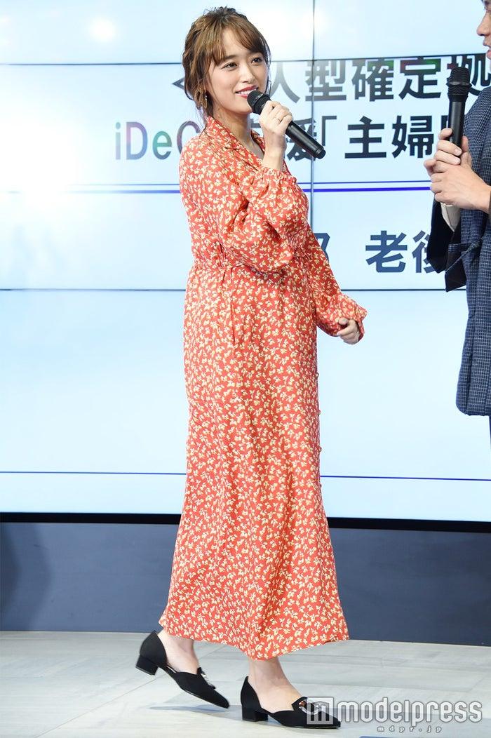 妊娠7ヵ月時の近藤千尋 (C)モデルプレス