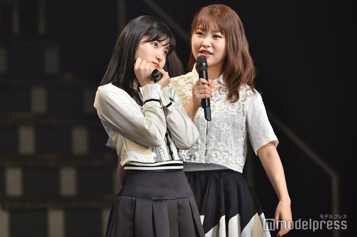 中西智代梨の順番のはずが谷口めぐが割り込み「AKB48 チームB単独コンサート~女神は可愛いだけじゃない~」 (C)モデルプレス