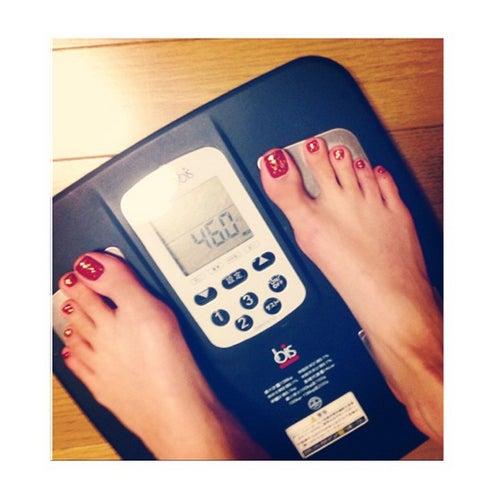 現在の体重を公開/菜々緒Instagramより
