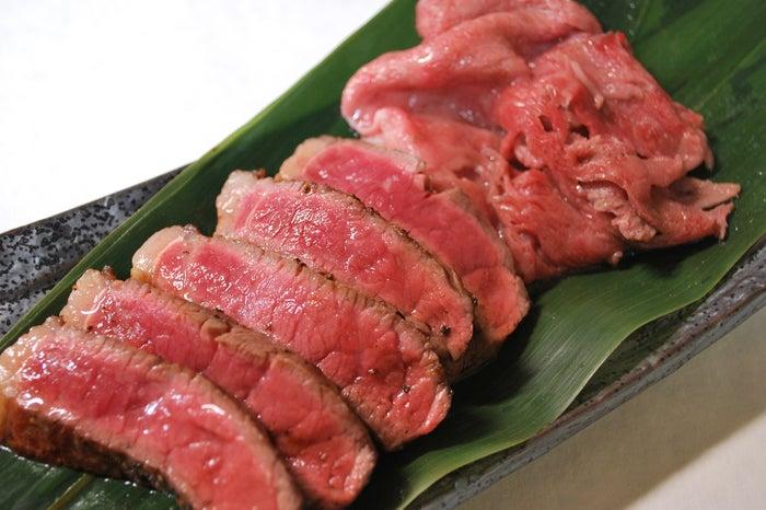 A4・A5熟成佐賀牛 厚切りステーキ&焼きしゃぶ/画像提供:AATJ