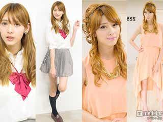 歴代・関東一可愛い女子高生、美女にガラリ変身 ドレスアップでセレブオーラを身にまとう