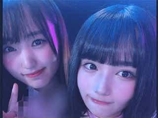 話題の「坂道AKB」第3弾、AKB48矢作萌夏ら坂道メンバーとの2ショット公開で期待高まる 菅井友香「慣れないことをした」