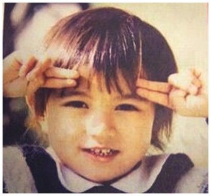 田中聖の幼少期が「ハーフみたい」と話題/オフィシャルブログ(Ameba)より