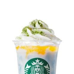 SHIGA「滋賀 びわブルー シトラス クリーム フラペチーノ」/画像提供:スターバックス コーヒー ジャパン