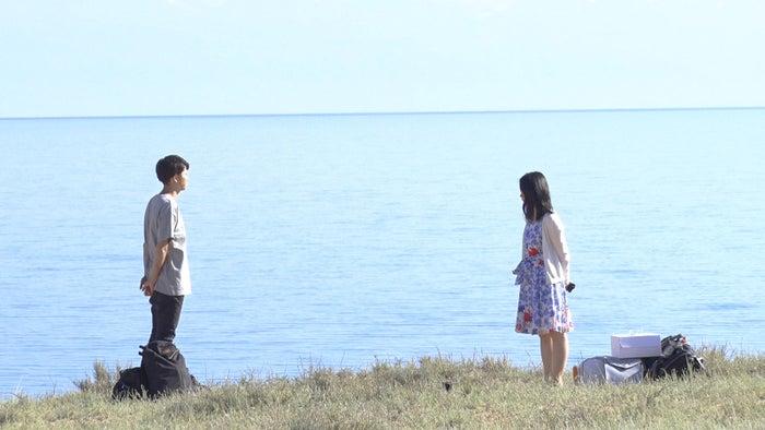 トム、桜子「あいのり:Asian Journey」シーズン2第21話より(C)フジテレビ
