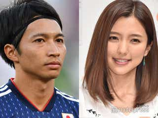 真野恵里菜、夫・柴崎岳選手の試合中継に映り込み「可愛い」と話題に
