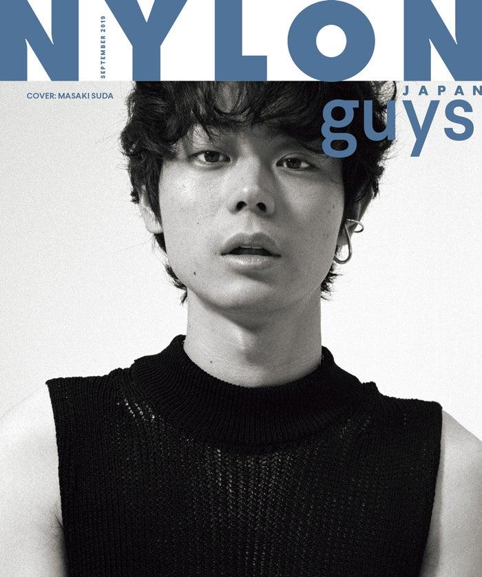 「NYLON JAPAN」2019年9月号(7月26日発売)表紙:菅田将暉(画像提供:カエルム)