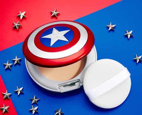 「アベンジャーズ」一番コフレがスタート!キャプテン・アメリカのシールドのフェイスパウダーなど