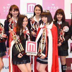 「女子高生ミスコン2015‐2016」グランプリ&準グランプリ&各賞受賞者(C)モデルプレス