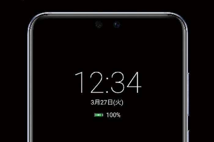 画面OFFのときも、時間・日付・電池残量を表示