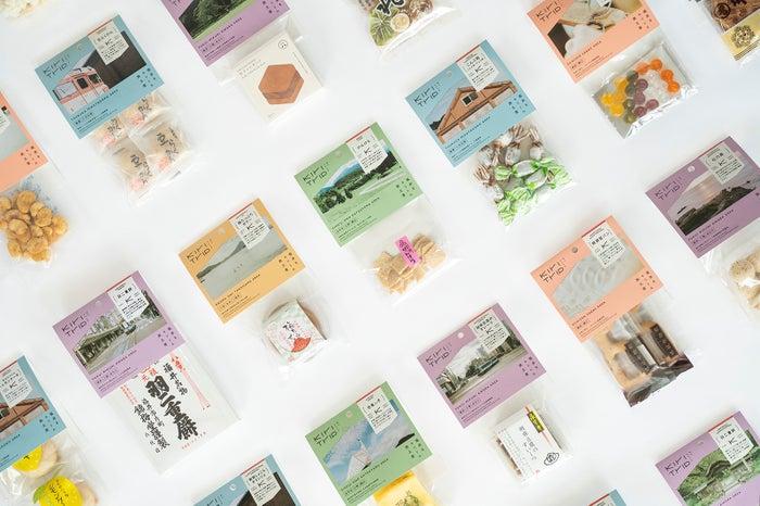 小分けにされた福井の厳選土産。パッケージも可愛い!/提供画像
