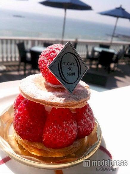 パティシエ特製のオリジナルケーキ/画像提供:葉山ホテル音羽ノ森
