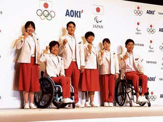 AOKI、東京五輪の公式服装を発表 オリ・パラ統一で
